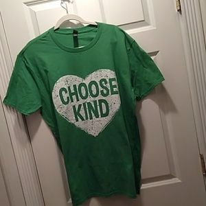 Tops - Choose Kind t-shirt in a extra large.